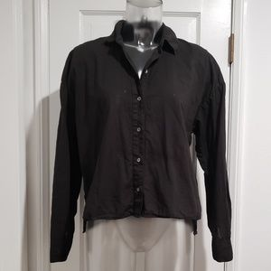 James Perse Boxy Cotton Shirt
